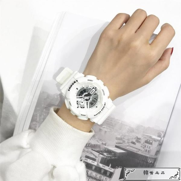 超火的手表女學生韓版簡約潮流休閑大氣chic運動電子表