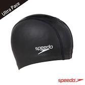 ║speedo║成人合成泳帽 Ultra Pace 黑