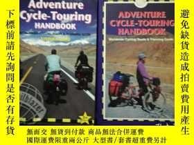 二手書博民逛書店ADVENTURE罕見CYCLE-TOURING HANDBOO