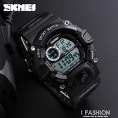 手錶男中學生電子錶防水數字夜光青少年戶外運動多功能男錶 Ifashion