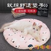 大號 貓墊子寵物四季通用貓窩加厚棉毯子狗狗墊子地墊【淘嘟嘟】