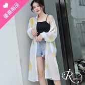 韓系時尚OL簡約大圓點長版罩衫上衣/3色 (RL0017-5619) iRurus 路絲時尚