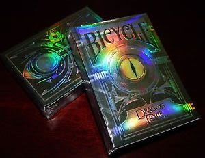 【USPCC 撲克】Dragon tome limited Playing Cards 龍書