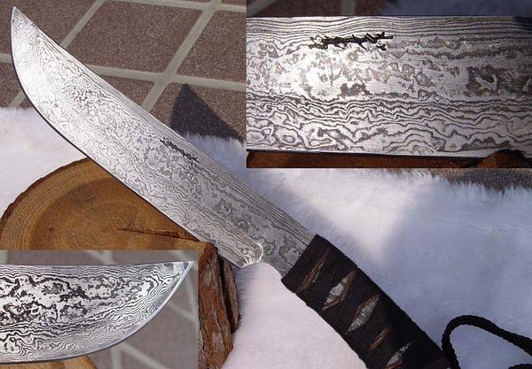 郭常喜與興達刀具--郭常喜限量手工刀品-獵刀(A0049)