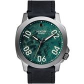 NIXON Ranger 45 Leather 軍事風格個性腕錶 A466-2069 熱賣中!