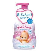牛乳石鹼COW Q比嬰兒泡泡沐浴乳(嬰兒皂香)400ml x1入