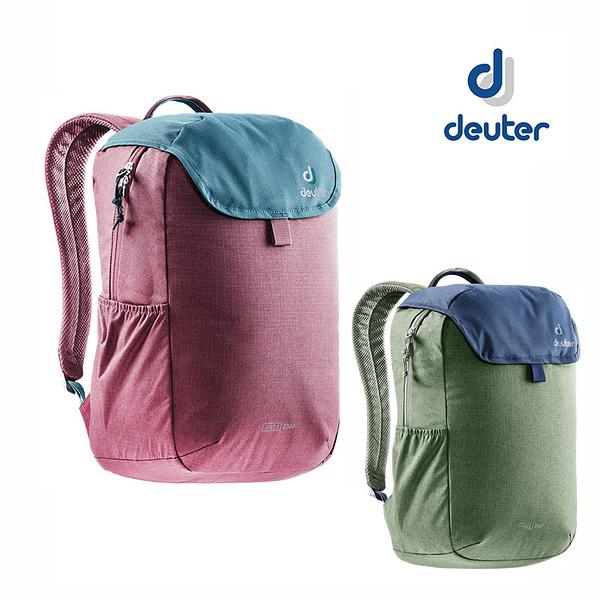丹大戶外【Deuter】德國 VISTA CHAP休閒旅遊背包16L /旅行/都會/戶外 3811119 紅、綠