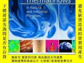 二手書博民逛書店Rotating罕見Thermal Flows in Natural and Industrial Process