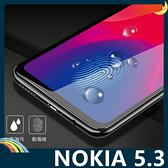 NOKIA 5.3 全屏弧面滿版鋼化膜 3D曲面玻璃貼 高清原色 防刮耐磨 防爆抗汙 螢幕保護貼 諾基亞