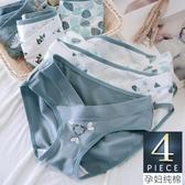 孕婦內褲純棉孕晚期低腰懷孕期孕早期大碼女孕中期褲頭短褲寬松 童趣屋