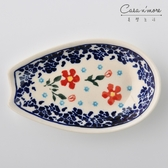 波蘭陶 藍印紅花系列 湯勺休息區 湯勺架 湯匙架 餐具架 波蘭手工製【美學生活】