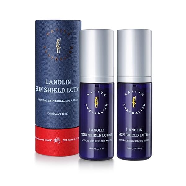 【澳洲Native】深層養護系列-綿羊脂清爽護膚乳液(2 入組 60ml/瓶)