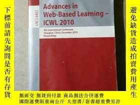 二手書博民逛書店Advances罕見in Web-Based Learning-