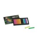 SIMBALION 雄獅 FSP-12 螢光色軟式粉彩筆 12色