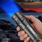 夜釣燈釣魚燈紫光臺釣超亮LED大功率魚燈藍光電筒【步行者戶外生活館】