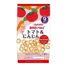 日本 KEWPIE S-5 寶寶果子圈圈~番茄胡蘿蔔12g(4gX3袋)(9個月以上適用)