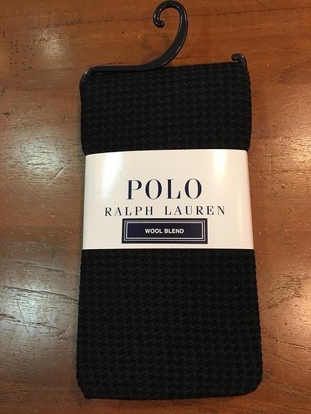 【京之物語】日本製POLO千鳥格紋女性舒適美腳褲襪(灰色/黑色)M-L