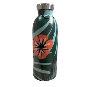 義大利24Bottles不鏽鋼雙層保溫瓶 500ml - 熱帶風情