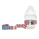 學習杯 / 固齒器 / 玩具 綁帶 美國 BooginHead 紅白條紋 防掉落綁帶 nautical red  SG-NR