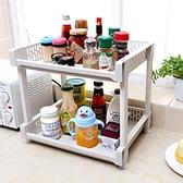 廚房置物架帶輪移動落地收納架子衛生間浴室儲物架多層桌面收納架 酷男精品館
