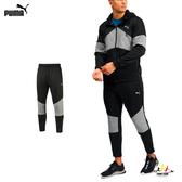 Puma Extract 男 黑灰 長褲 運動褲 慢跑 健身 吸濕 排汗 透氣 乾雙 訓練長褲 51907603