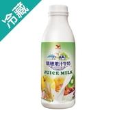 瑞穗果汁調味乳930ml/瓶【愛買冷藏】