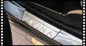 【車王小舖】日產 Nissan 新舊款 Livina 迎賓踏板 外置迎賓踏板 門檻飾條 門檻條