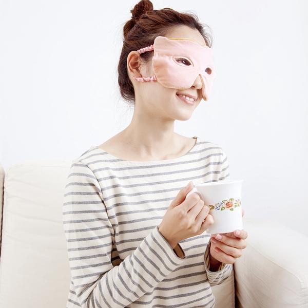 【OPEN EYE】日本進口 魅力冷熱敷眼罩 一入 舒緩疲勞 冰敷 熱敷 冰眼罩 睡眠眼罩