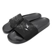 Reebok 拖鞋 Filgere Slide 黑 全黑 男鞋 基本款 復古 大LOGO 舒適好穿 涼拖鞋 【PUMP306】 CN6467