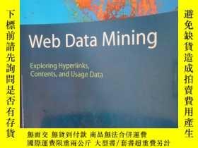 二手書博民逛書店Web罕見Data Mining: Exploring Hype