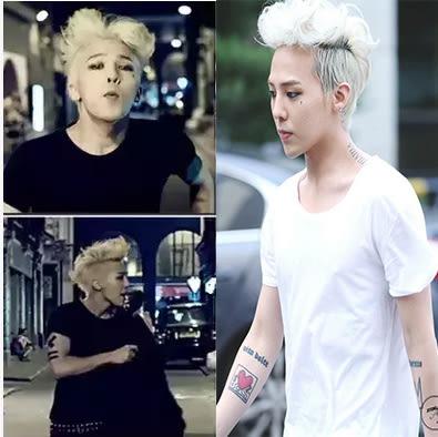 【原創館】bigbang權志龍同款衣服 純棉短袖T恤