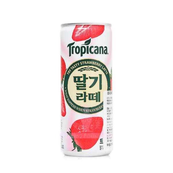 韓國 Tropicana 草莓拿鐵 240ml