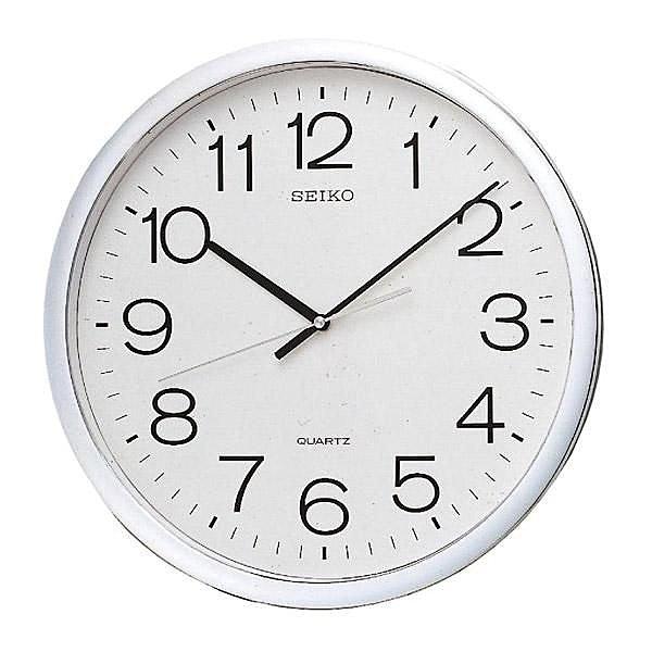 【時間光廊】SEIKO 日本 精工掛鐘 標準鍾 40公分 全新原廠公司貨 QXA041/QXA041S