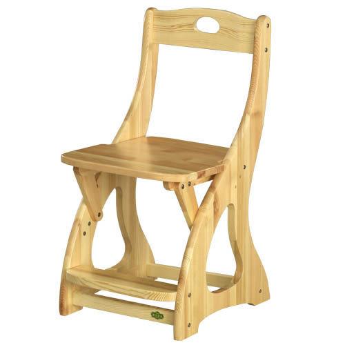【藝匠】樟子松升降椅/實木  原木  松木 房間 彩妝 化妝 梳妝 三段式升降 居家  嫁妝