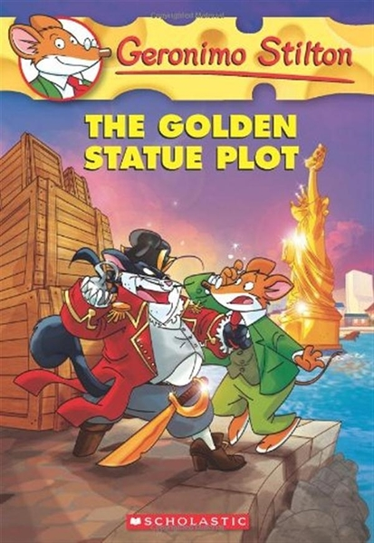 (二手書)Geronimo Stilton(55):The Golden Statue Plot