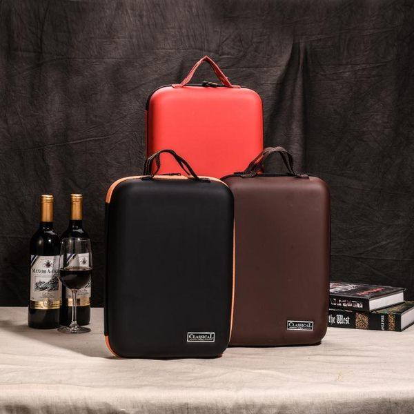 便攜式車載紅酒包雙瓶裝紅酒盒2支葡萄酒包裝盒禮盒通用紅酒盒子 台北日光