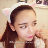 【超取399免運】韓國 超萌貓耳朵束髮帶 貓耳髮箍
