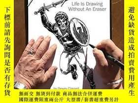 二手書博民逛書店Mike罕見Grell: Life Is Drawing Without An EraserY360448 D