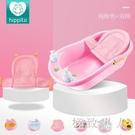 嬰兒洗澡盆新生幼兒可坐躺寶寶沐浴盆0-6歲兒童大號超大小孩加厚 LJ6619【極致男人】