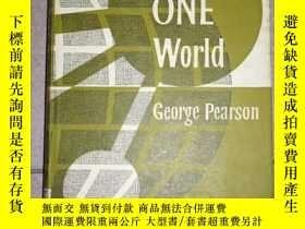 二手書博民逛書店Towards罕見One World:an outline of