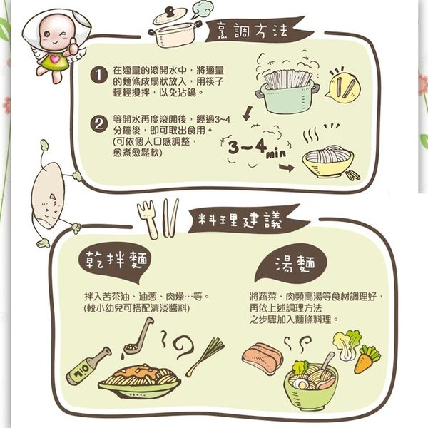 幸福米寶 幸福米麵/副食品/寶寶麵條 (紫心紅薯味)