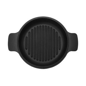 (組)鑄鐵黑琺瑯煎湯兩用鍋25cm+廚房配件三件組(新款)