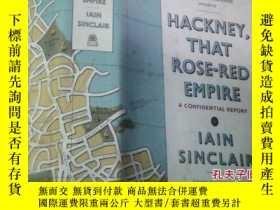二手書博民逛書店hackney罕見that rose-red empire a