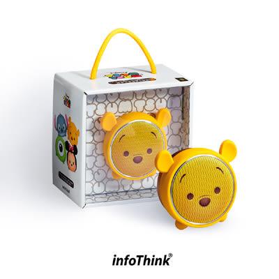 【收藏天地】TSUM TSUM玩音樂藍牙燈光喇叭-小熊維尼 Pooh