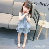 女童夏裝洋氣3女寶寶夏季衣服嬰兒童時髦兩件套裝4歲韓國【東京衣秀】
