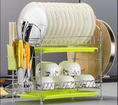 碗架瀝水架廚房用品置晾放碗碟架盤子餐具碗筷收納盒洗碗池置物架  color shopigo