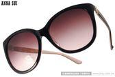Anna Sui 太陽眼鏡 AS1026-1 C153 (黑-香檳) 絕美奢華華麗貓眼款 # 金橘眼鏡
