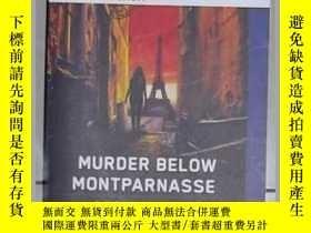 二手書博民逛書店英文原版罕見Murder Below Montparnasse