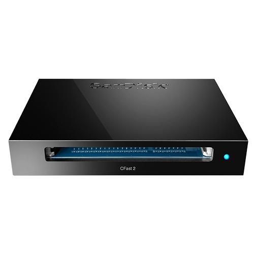SanDisk Extreme PRO CFast 2.0 讀卡機 寫入器 SDDR-299-G46