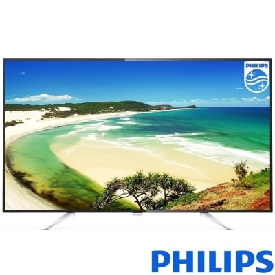 贈送 基本安裝 Philips飛利浦 43吋 4K連網 液晶顯示器+視訊盒 43PUH6651